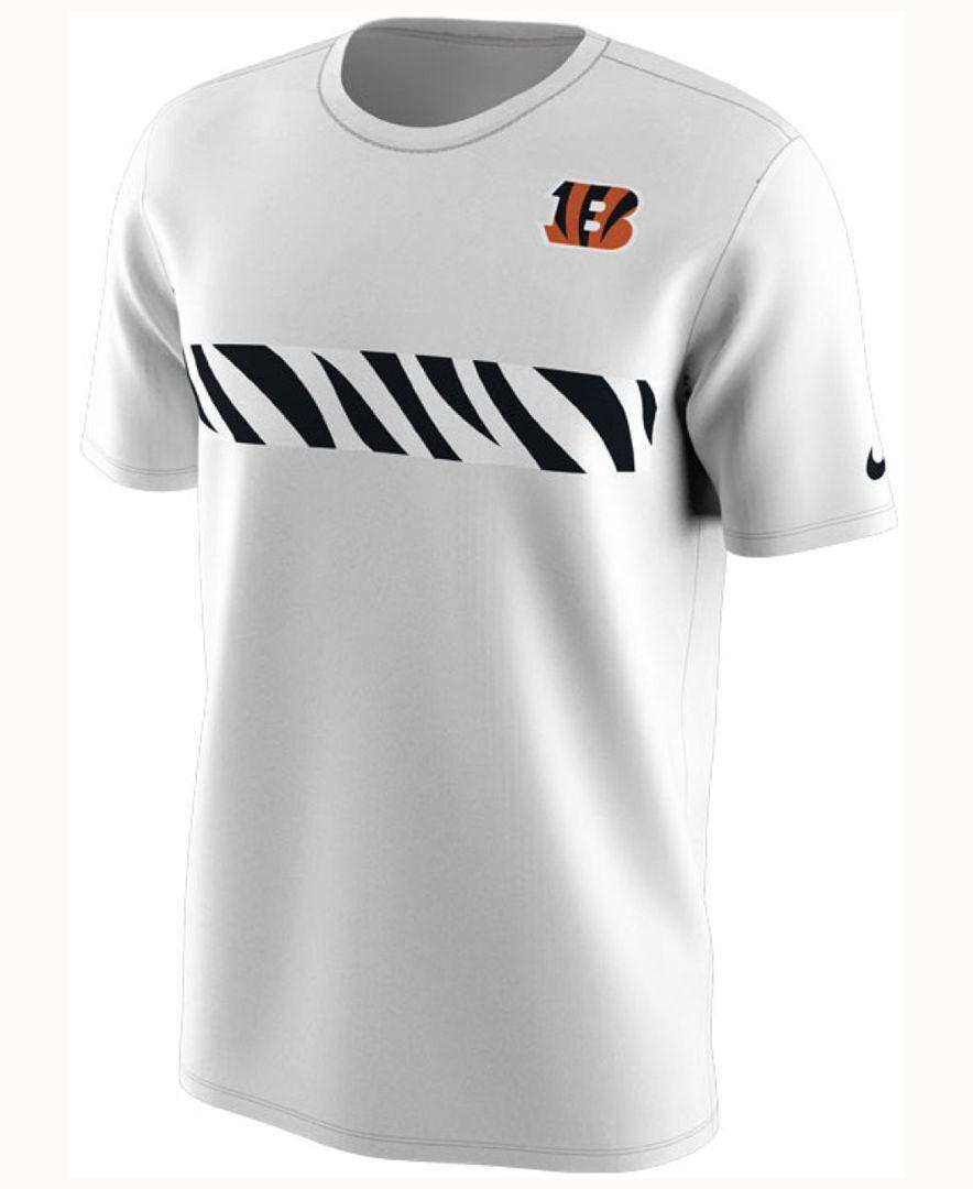 a4b09d2e Nike Men's Cincinnati Bengals Color Rush Stripe T-Shirt | Cincinnati ...