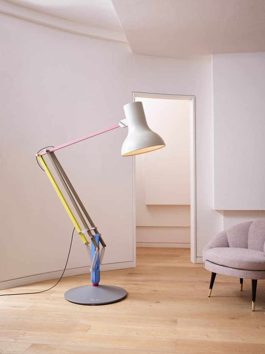 Paul Lampen Anglepoise Paul Smith Type 75 Giant Floor Lamp Lighting