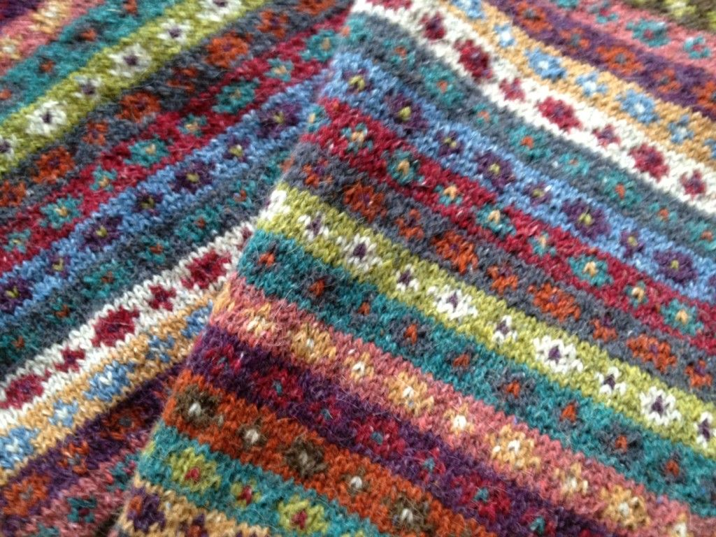 Kaffe Fassett | Emilia stickar | Knitting pattern