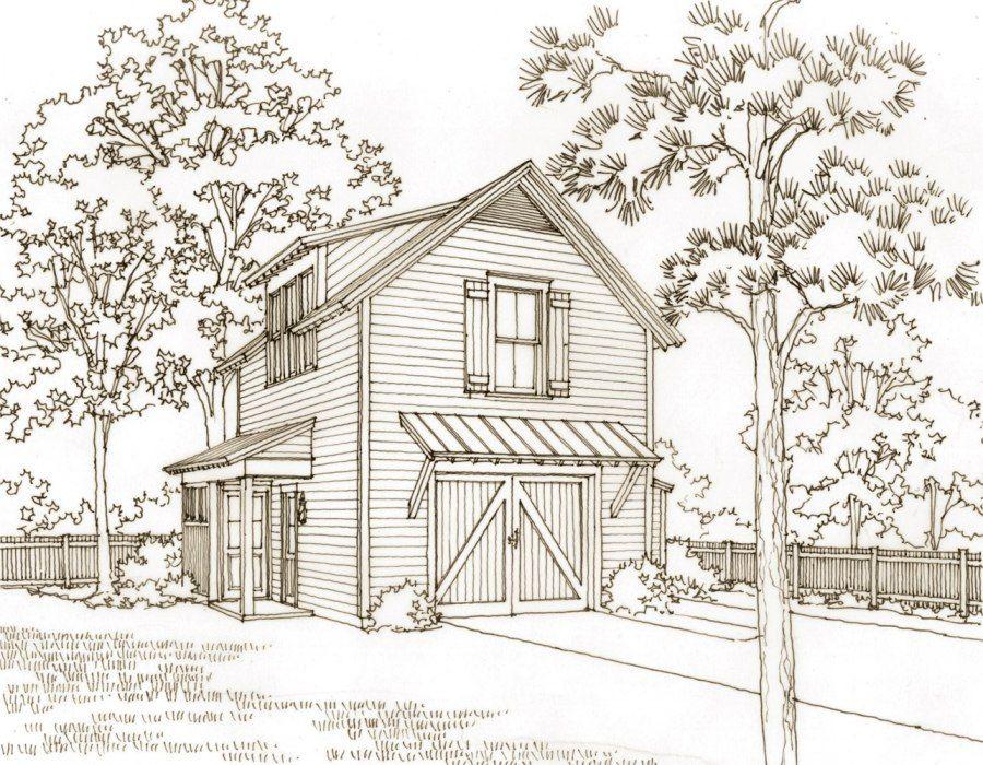 Good upstairs plan Southern Living Garage Pinterest – Southern Living Garage Apartment Plans