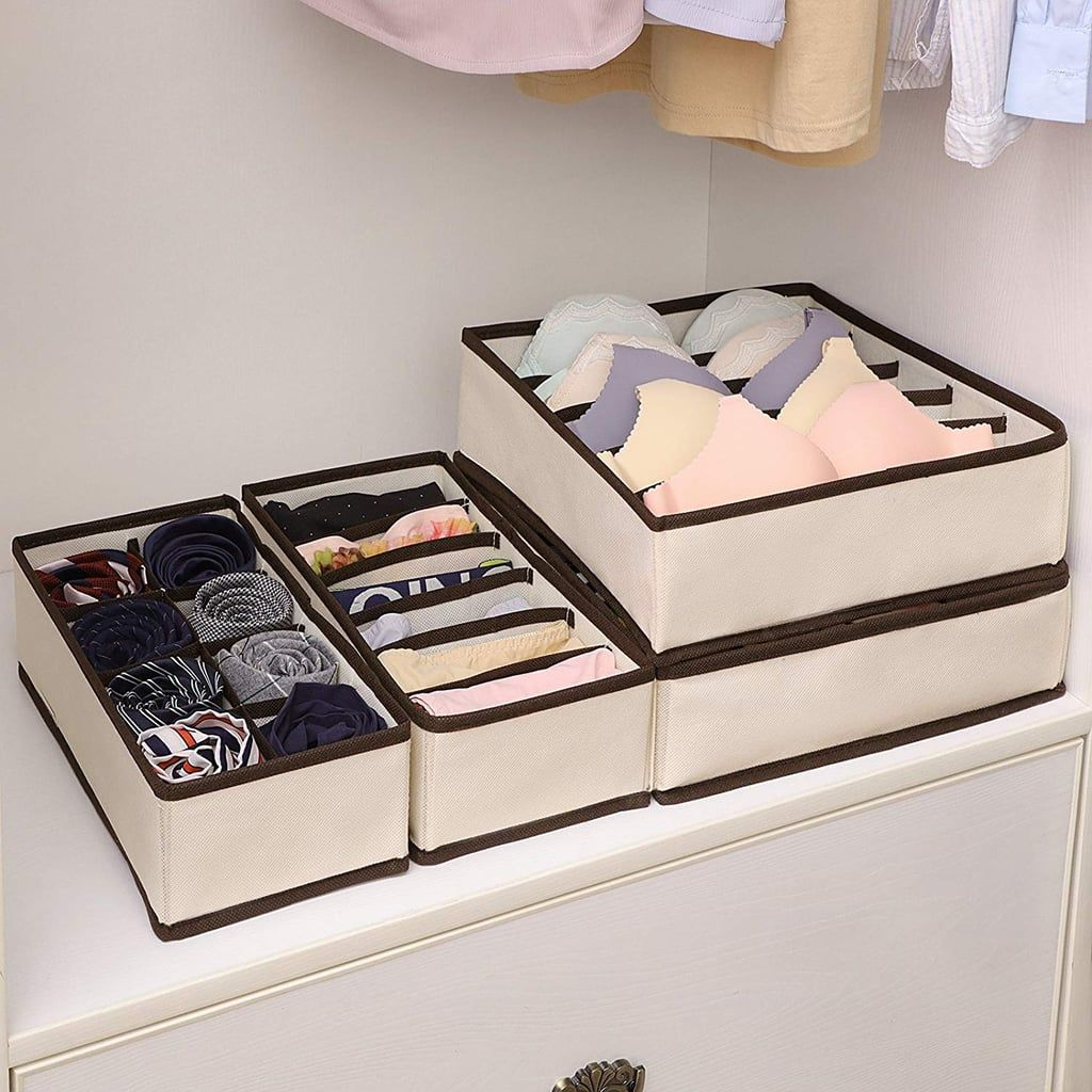 Amazon Com Foldable Cloth Storage Box Closet Dresser Drawer
