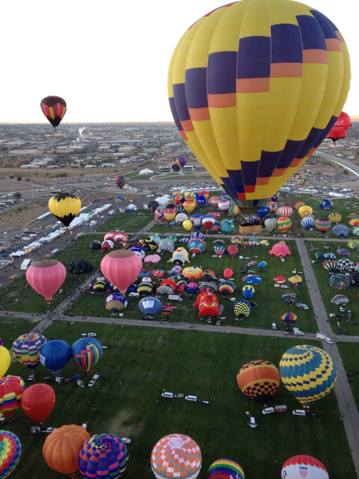 Albuquerque Balloon Fiesta Air balloon rides