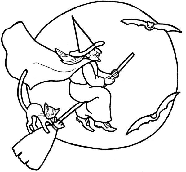 thousands free printable halloween coloring pages raising our kids halloween coloring pages - Halloween Pictures For Kids To Draw