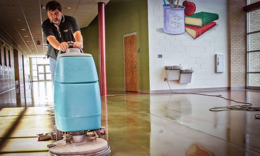 Tips To Make Shining Marble Floors Decorative Concrete Floors Polished Concrete Concrete Floors