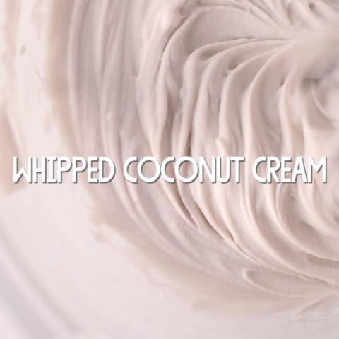Recipe: Whipped Coconut Cream
