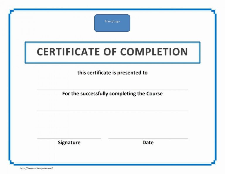 Blank Training Certificates Koranstickenco Fall Protection