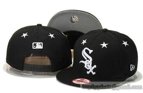 ... 50% off mlb chicago white sox snapback hats adjustable mitchell and ness  caps black white 1139412be67d