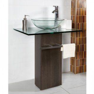 Lavamanos de vidrio transparente vesel easy casita for Llaves para lavamanos easy
