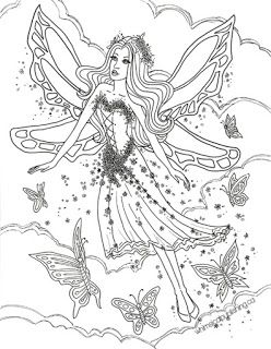 fairies  fairy coloring pages free adult coloring pages fairy coloring