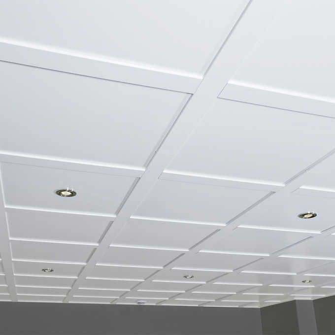 Emby Suspended Ceiling Kit 80 Sq Ft Tiles