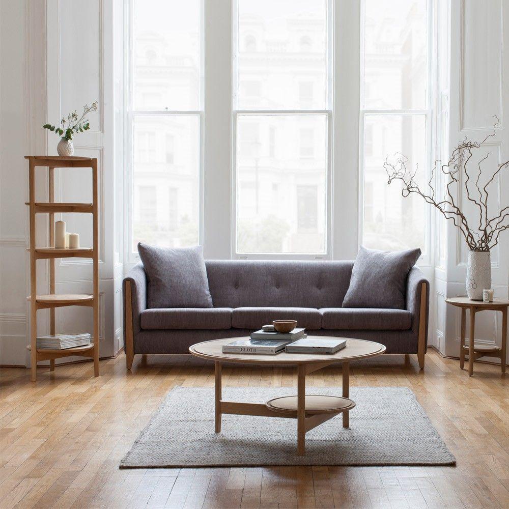 Ercol svelto cabinet open shelving oak dead matt houseology