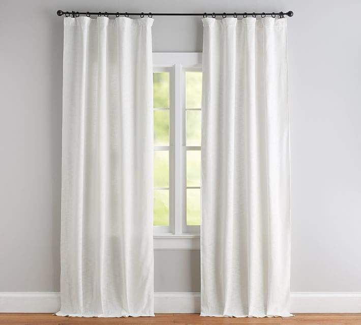 Seaton Textured Curtain White Curtain Texture Curtains With