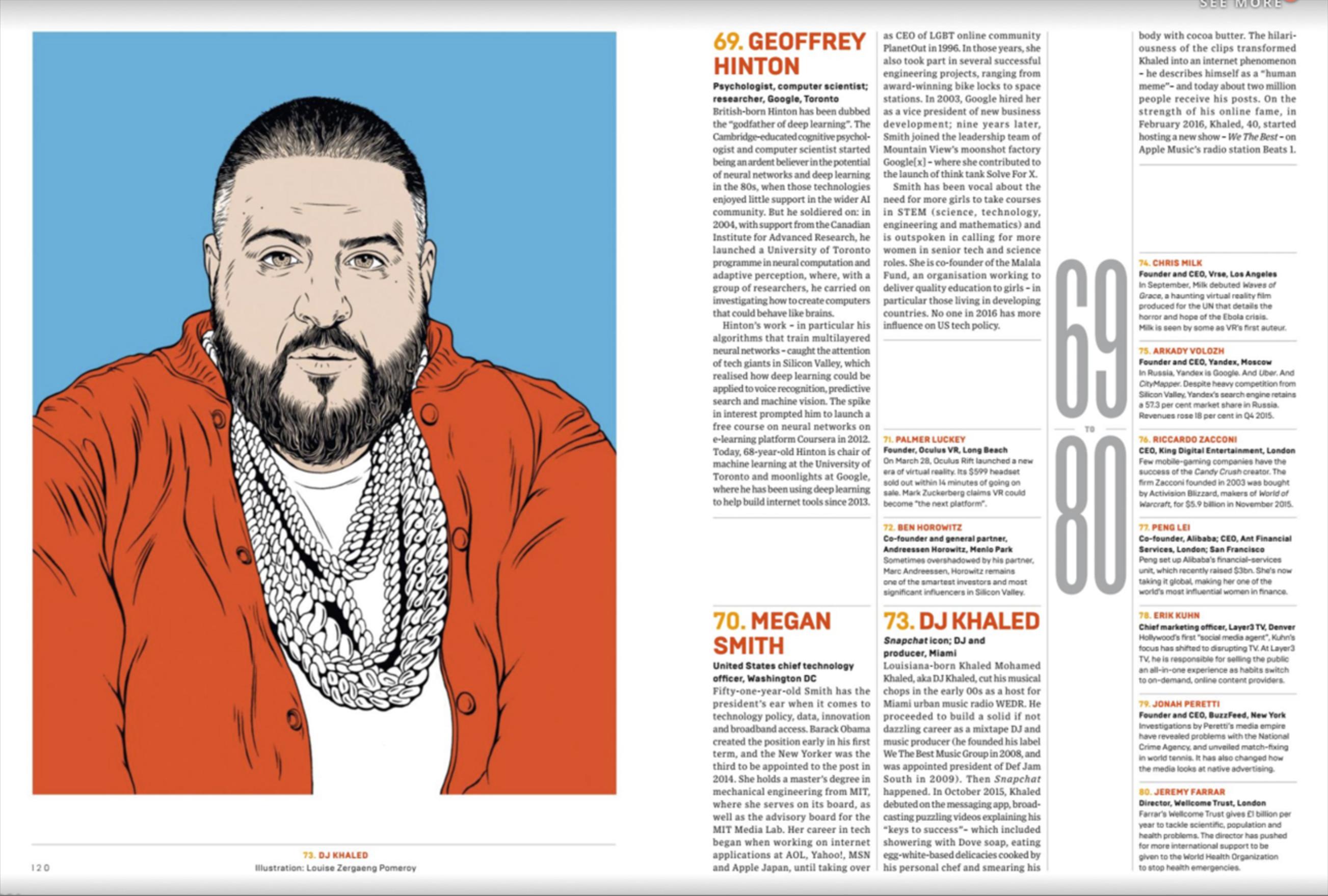 Wired UK magazine Top 100 | Illustration | Pinterest