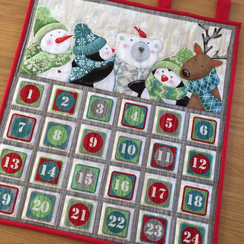 christmas countdown calendar craft