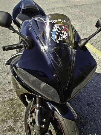 Custom Ruff Ryders Decal On This Motorcycle Vehicle Graphics - Decal graphics for motorcycles