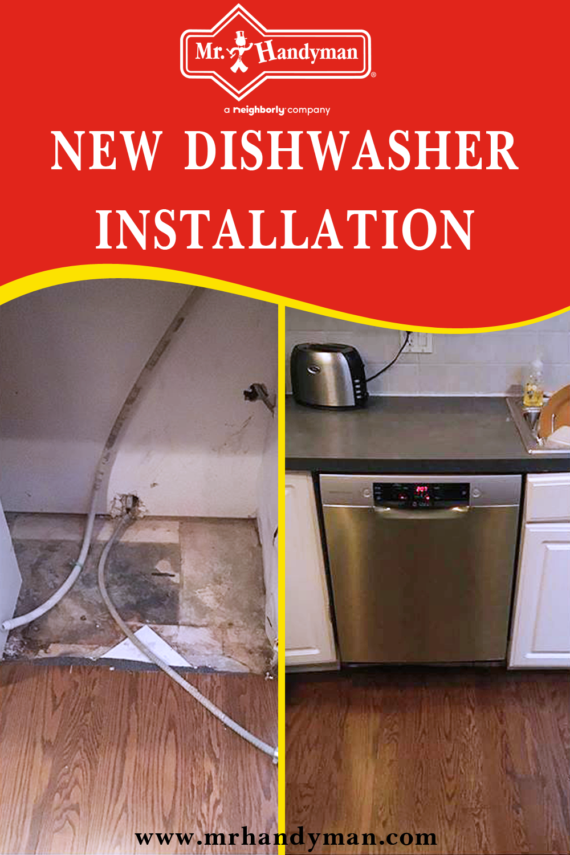 New Dishwasher Installation Dishwasher Installation Installation Appliance Installation