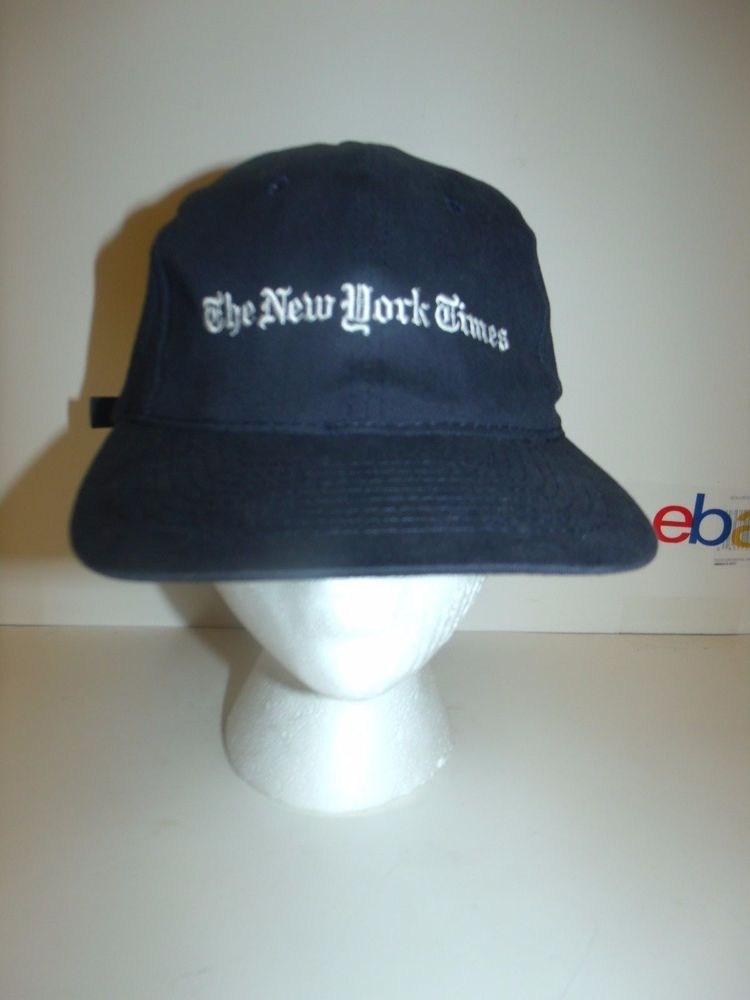 New York Times Hat Cap Baseball NYC yeezus  BaseballCap  9ab9f5b894d