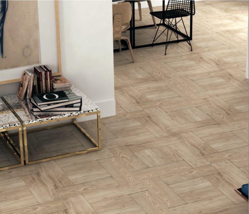 Tiles Parquet Cottage Sycamore 60,7x60,7 cm, floor tiles