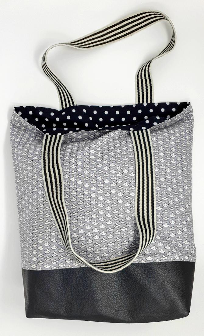Der Einkaufsbeutel zum Wenden – Wendy Tasche nähen – Nähen für Anfänger – MakingMim