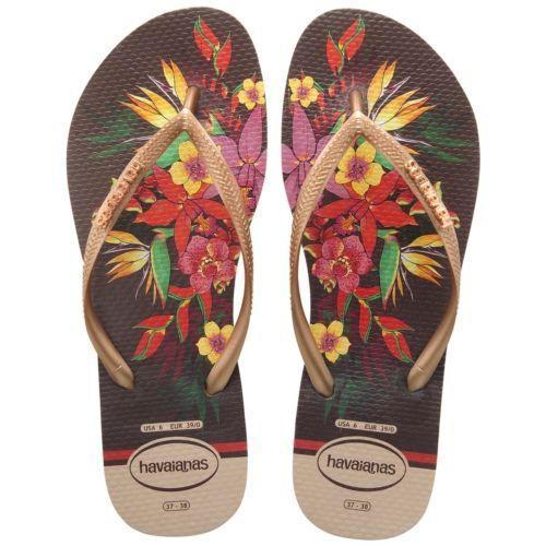 Havaianas Slim Tropical Floral Flip Flop (Women's) xgPHYmEo