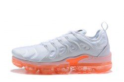 14c6bdb4b8 ... store excellent nike air vapormax plus tn white orange sneakers mens  womens running shoes e8918 5150d