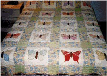 antique handmade quilts | Handmade quilts | Pinterest | Antique ... : butterfly applique quilt - Adamdwight.com