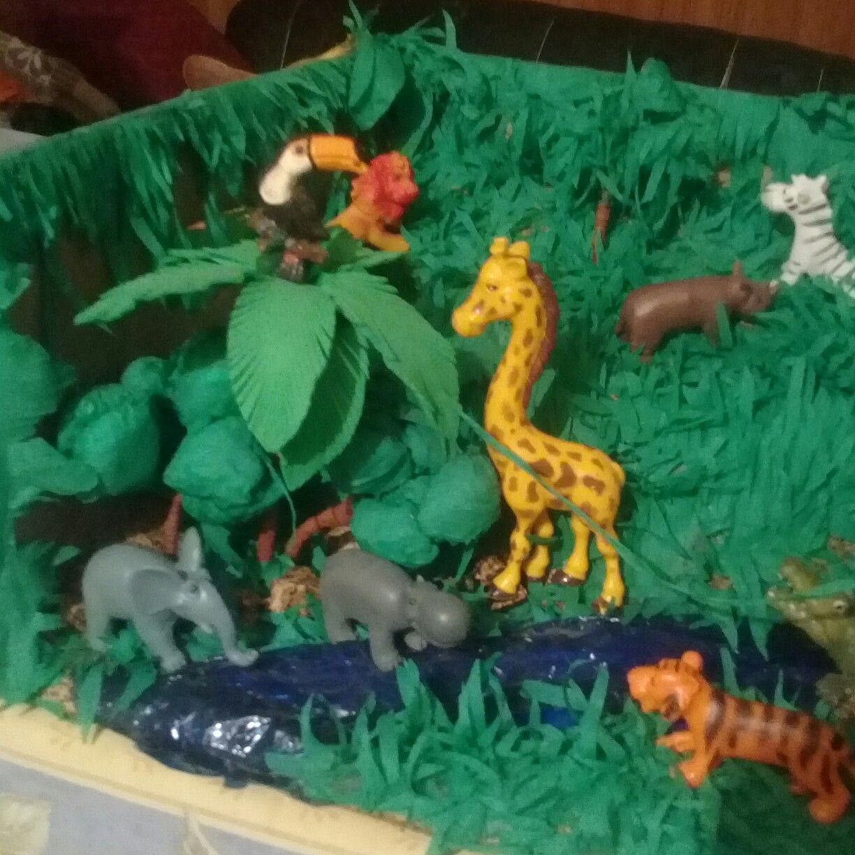 Pin de Cecilia Sanchez en Maqueta de la selva   Maquetas