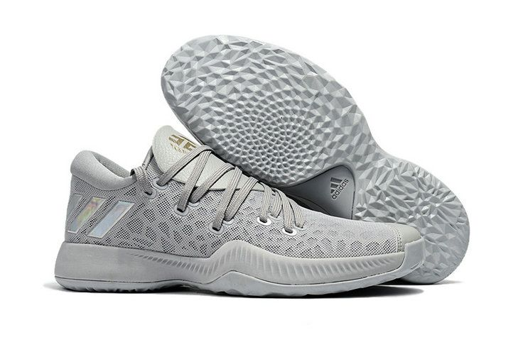 Discount adidas James Harden Vol.2 Light Grey Basketball Shoe For Sale