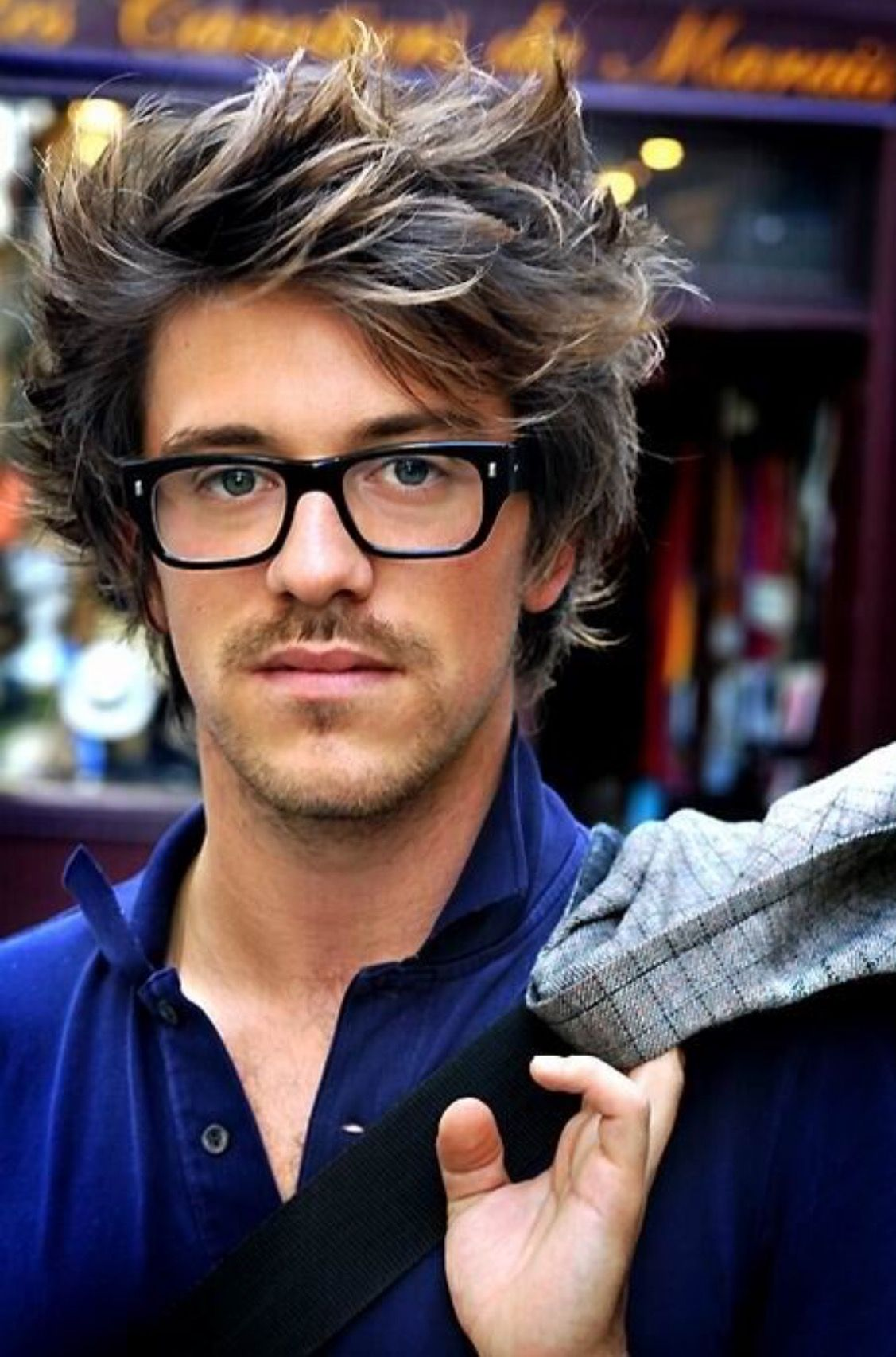 Mens Hairstyles With Glasses Messy Long Hairstyles Mens Hairstyles 2015 2016 Style