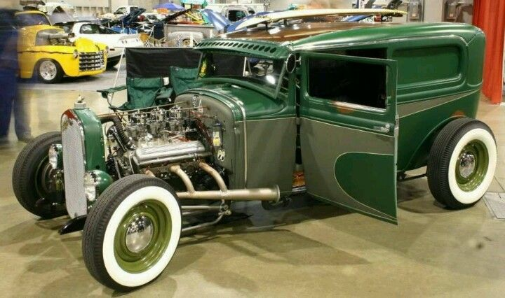 Custom 1931 Ford Sedan Hot Rod Rat Rod Sedan Custom Cars