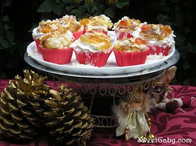 El Blog de Sweet Gaby: Cupcakes de Roscón de Reyes... Ros-Cakes!