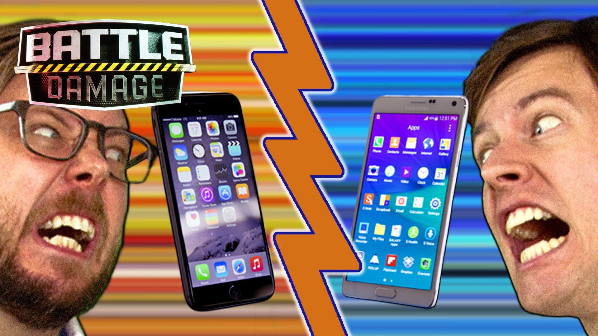iPhone 6 Plus vs. Galaxy Note 4 | WIRED's Battle Damage