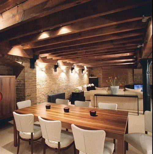 Beams Are Bomb Loft Style Homes Interior Architecture Interior