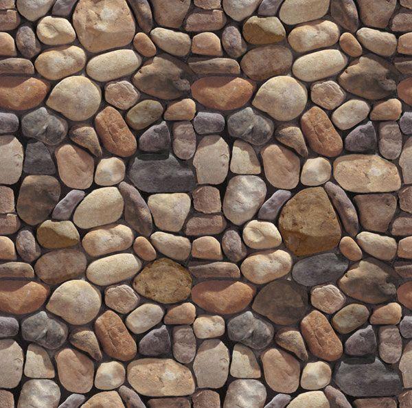 river rock facade - Google Search | For the Home ...