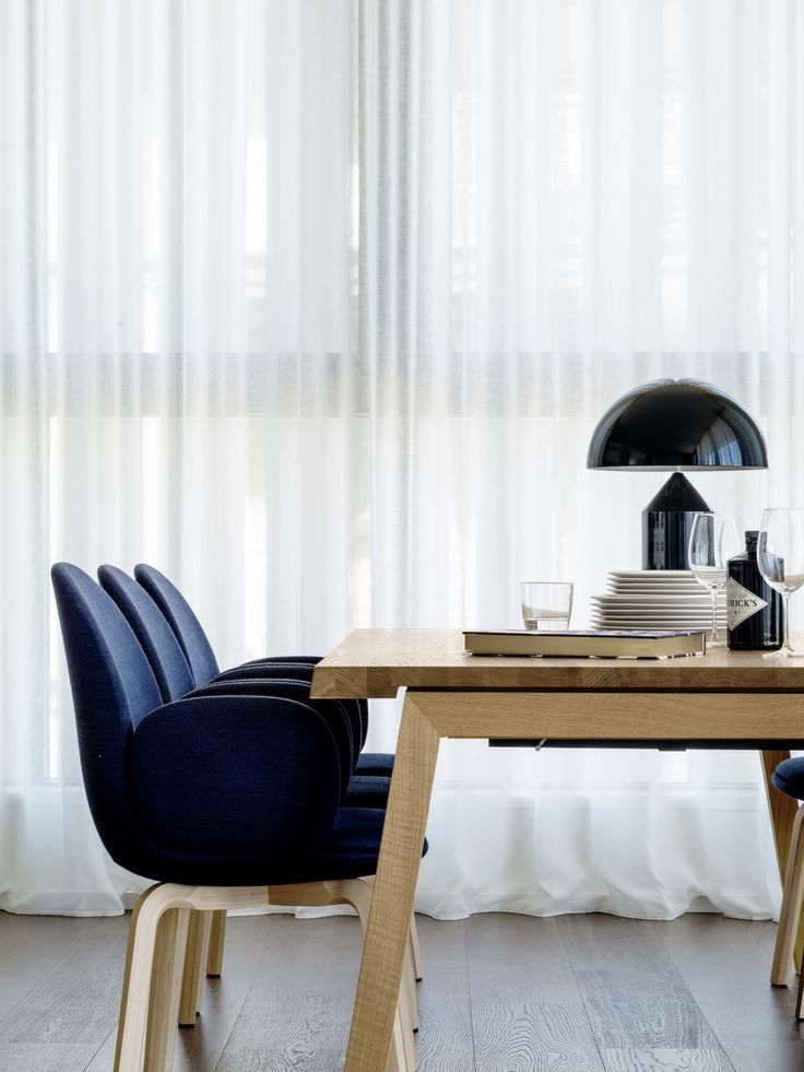 Dining Room in the Barangaroo Home by Anna-Carin Design | Interview with Anna-Carin | est living