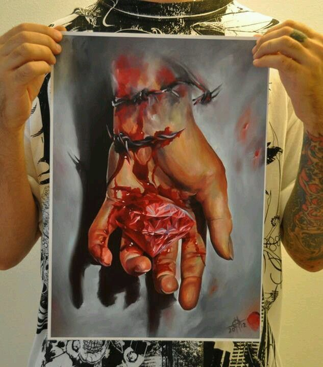 Tat artist painting