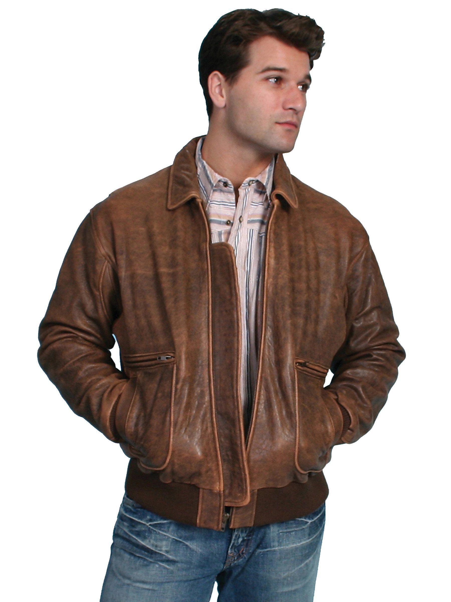 Lambskin bomber jacket. Authentic bomber styling with bi