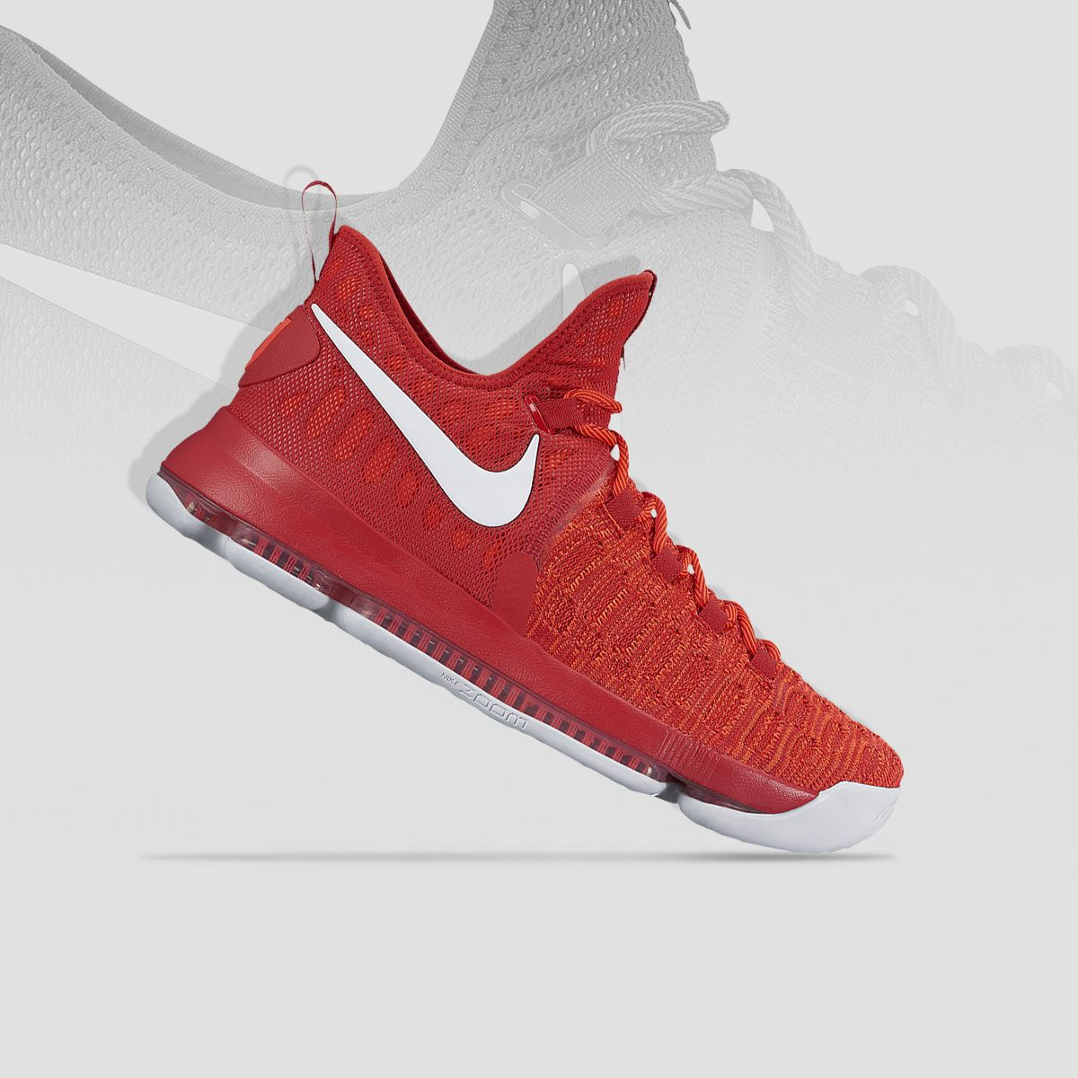 cfd7b1644c117c Stay lethal on the court with the new  Varsity Red  Nike KD 9s — out now.