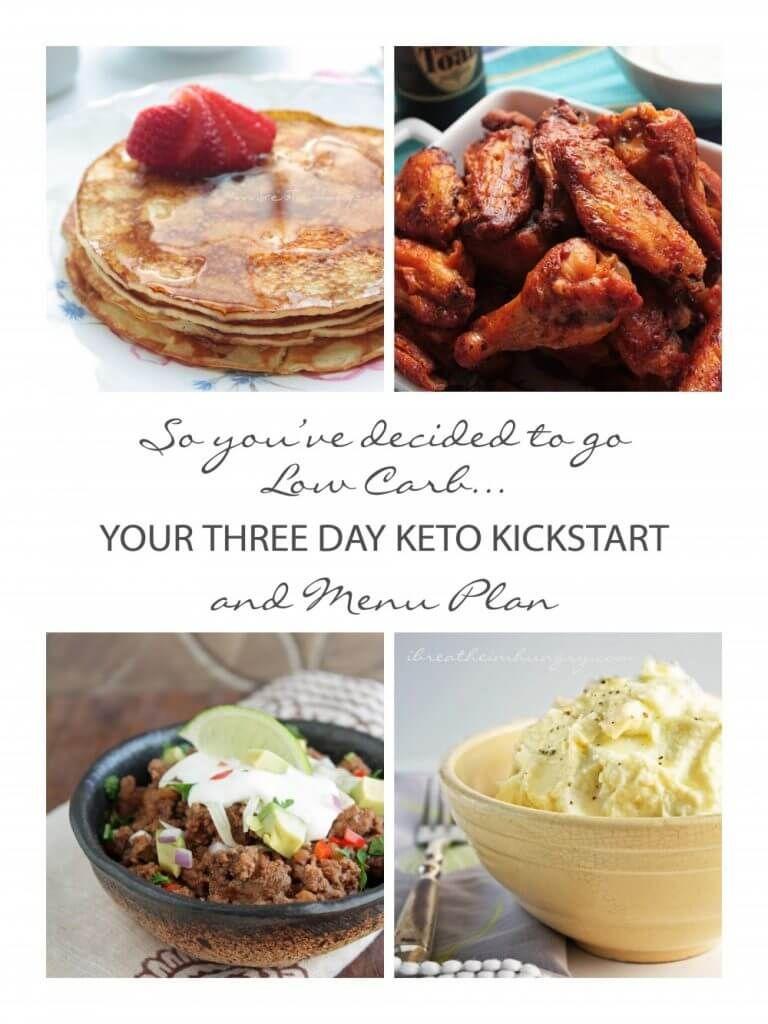 Your 3 Day Keto Kickstart and Menu Plan - IBIH | Keto ...