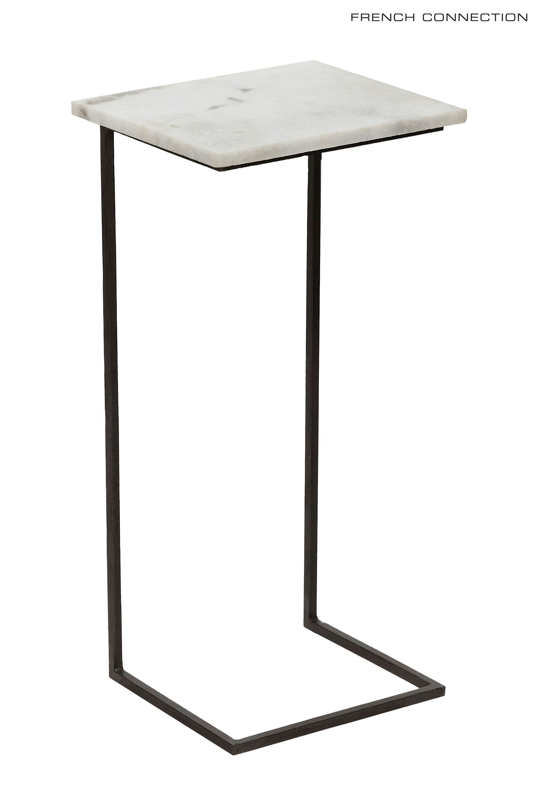 Buy French Connection Marble Laptop Or Side Table From The