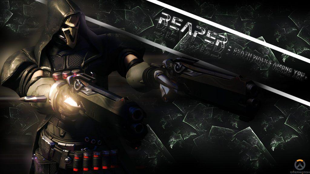 Reaper Overwatch Wallpaper 33 Best Images Full Hd Ultra Hd Overwatch Wallpapers Overwatch Action Wallpaper