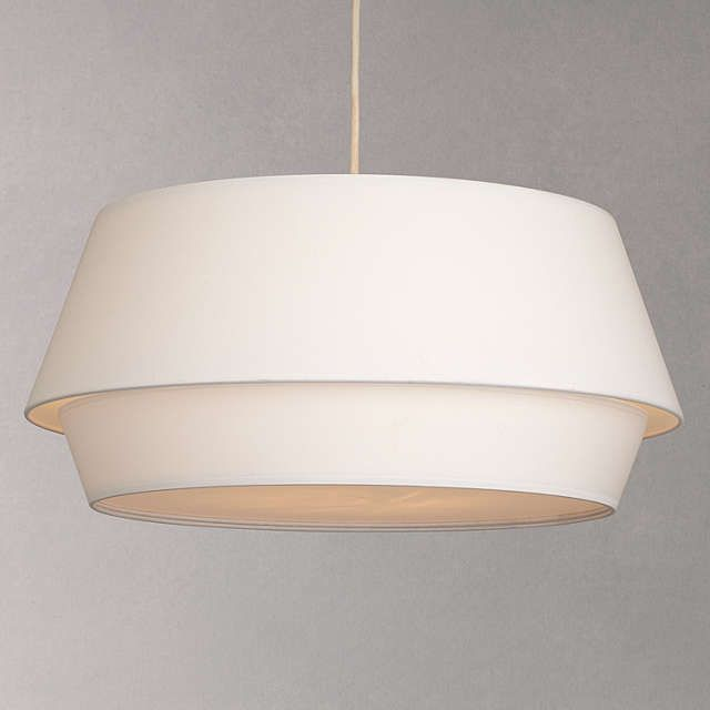 House By John Lewis Lisbeth Easy To Fit Ceiling Shade Lichen