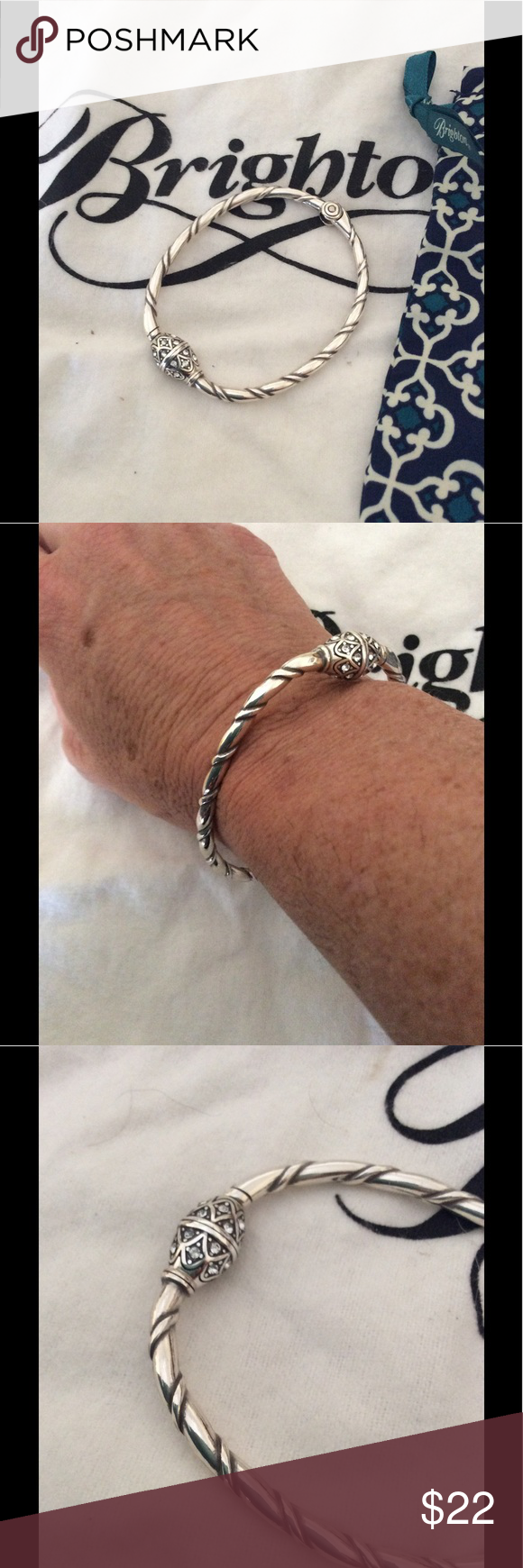 Brighton Charm Holder Bracelet