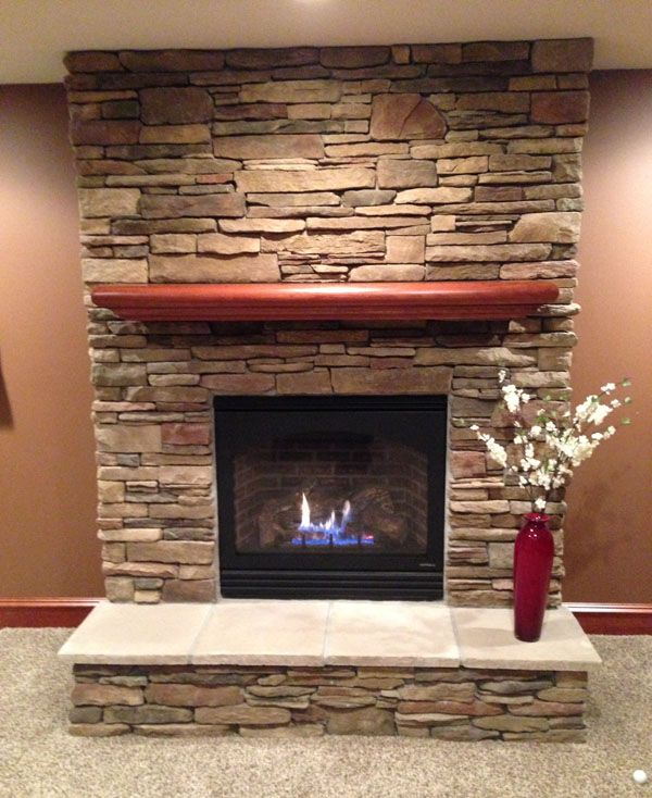 ledge stone fireplace. Image result for chardonnay ledgestone fireplace  Fireplace