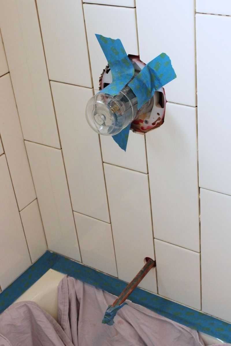 How to Tile a ShowerTub Surround, Part 2 Grouting