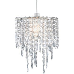 Buy beaded shade clear at argos your online shop for lamp buy beaded shade clear at argos your online shop for aloadofball Images