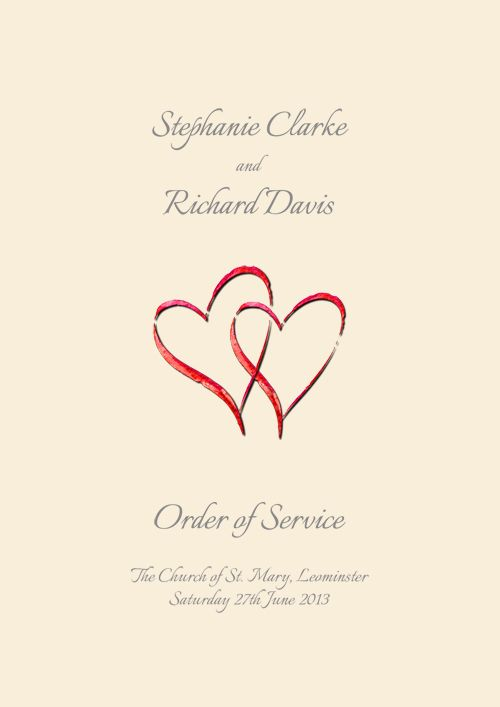 Wedding Order Of Service Google Search