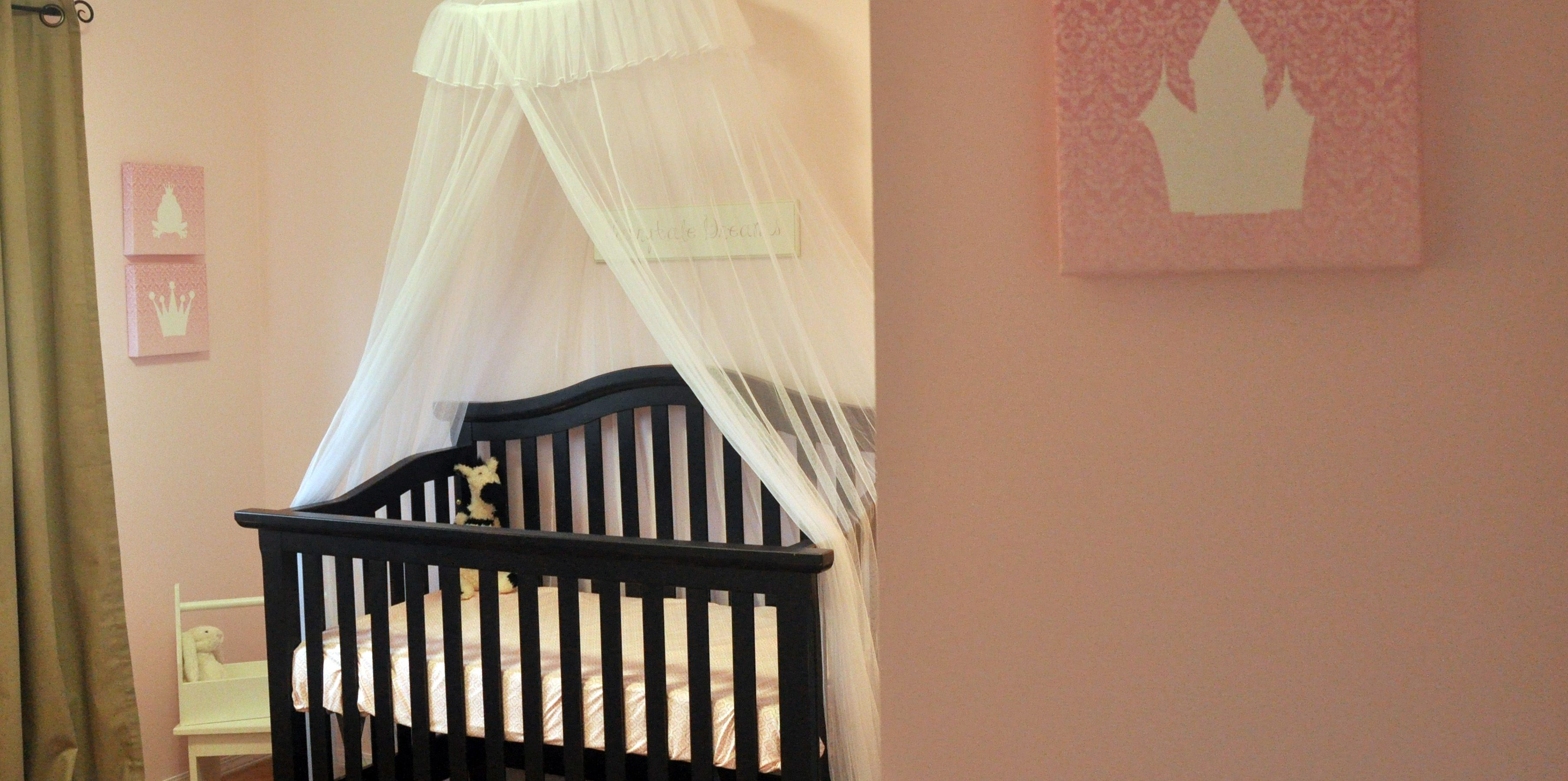 This Princess Nursery Was Specially Designed For Baby Ava