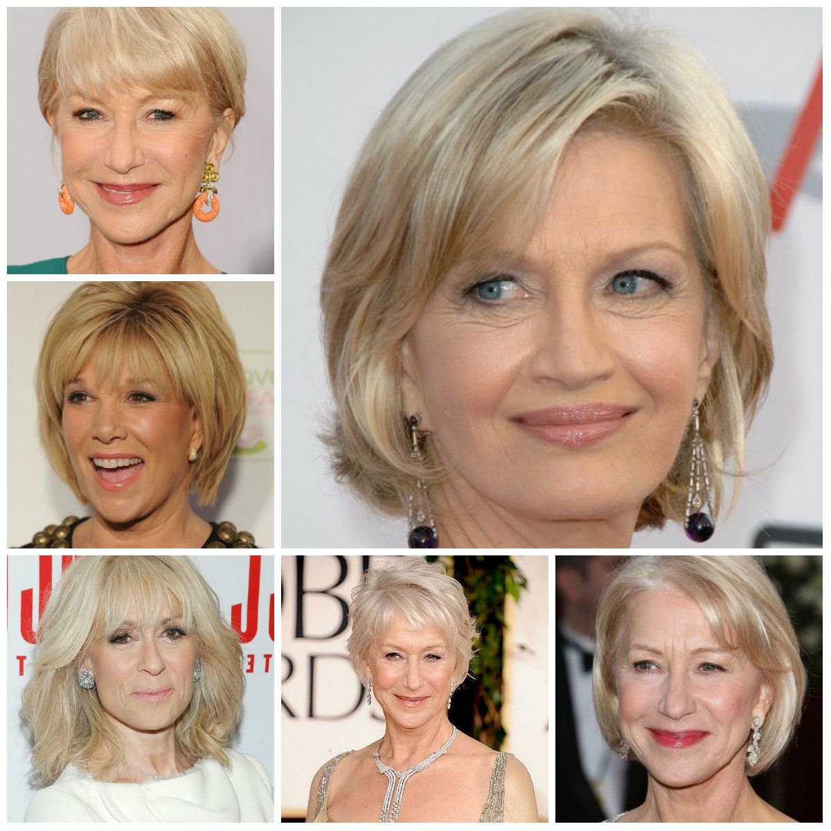 short hairstyles for woman over 60 | hair | pinterest | trendy