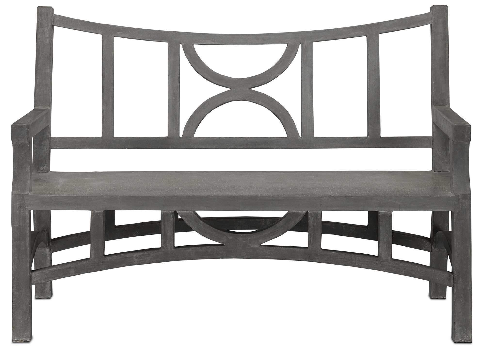Amazing Currey And Company Colesden Bench 2000 0011 Products Bralicious Painted Fabric Chair Ideas Braliciousco